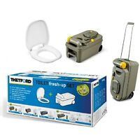 Thetford C200 Cassette Toilet Fresh Up Kit Seat/Holding Tank Caravan Motorhome