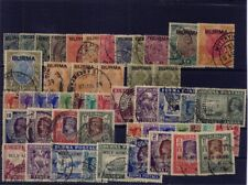 BURMA 1938 - 1954 very fíne cancelled collection nearly cpl. CV 1150,-- pounds
