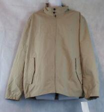 Nautica Men's Zip-Front Jacket, Tan, 2XL XXL