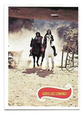 PLANET OF THE APES MOVIE CARD NO 39 GORILLAS COMING! TOPPS EXMINT+ 5120