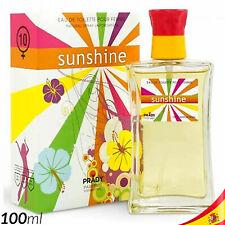 Colonia para Mujer SUNSHINE Prady 100ml Perfume Fragancia Agua EAU DE TOILETTE