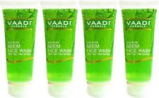 Vaadi Herbals Anti Acne Neem Face Wash with Tea Tree Extract - 60ml (Pack Of 4)
