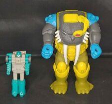 Vintage 1989 Hasbro G1 Transformers Pretenders Longtooth