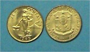 PHILIPPINES   1963   10 CENTAVOS  KM188