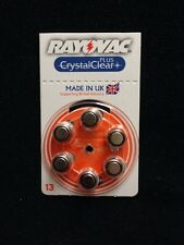 Hearing Aid Batteries Size 13 Pack Of 6 Rayovac