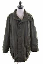 WOOLRICH Mens Parka Jacket Size 44 2XL Khaki Polyester  CX02