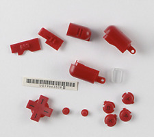 Red Button Trigger Hinge Cover D-Pad A B X Y Kit For Nintendo DS Lite DSL NDSL