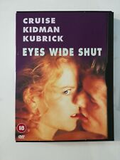 Eyes Wide Shut Dvd 1999 Cruise Kidman Kubrick Erotic Movie in Snapper Case