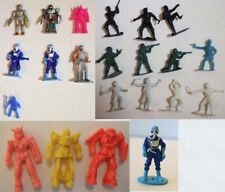 Toy Lot Soma Sonic Man Ranger Gundam Tombola Space Ninja Green Army Men Plastic
