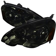 02-04 Acura RSX DC5 DC JDM Smoke Headlights w/ Amber Reflector Type S Base K20