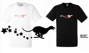 GREYHOUND TEE SHIRT. Logo Colours. Premium Cotton Fruit Of The Loom. 25% off two
