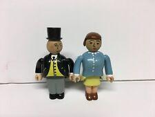 RARE THOMAS THE TRAIN THOMAS & FRIENDS Articulated SIR TOPHAM & LADY HATT - EUC!