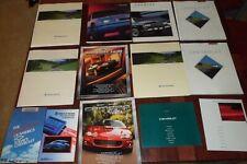 Lot of Chevrolet GM Dealer Brochures Camaro Beretta Cavalier Z24 Caprice Impala