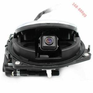 VW Car Flip Logo Rear view Emblem Reverse Camera For Magotan CC GOLF MK6 Rotate