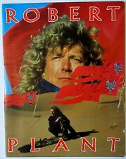 Robert Plant 1988 Non Stop Go Concert Tour Program! Now And Zen & Led Zeppelin