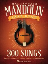 The Hal Leonard Mandolin Fake Book Sheet Music 300 Songs Mandolin Book 000141053