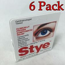 Stye Sterile Lubricant Eye Ointment, 0.13oz, 6 Pack 363736143084T498