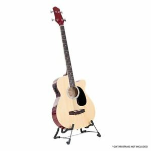 Acoustic Bass Guitar Karrera 43in with electric pickup - Natural