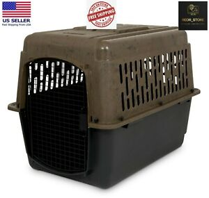 **ON SALE Dog Kennel, 32inch Length, Pets 30 to 50lbs, Camo and Black* ON SALE**