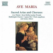 Ave Maria - Ave Maria: Sacred Arias & Choruses [New CD]