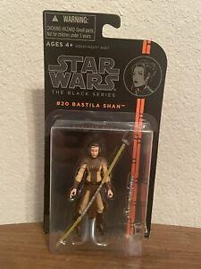 """Star Wars Black Series 3.75"""" Bastila Shan #20 EM7837 Jedi Knight (bent bubble)"""
