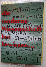 NEU Glückwunschkarte & Umschlag Grußkarte Geburtstag Karte Wissenschaft Formel