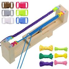 Paracord Bracelet Maker Loom Wristband Wrist 550 Parachute Cord Braid Jig Tools