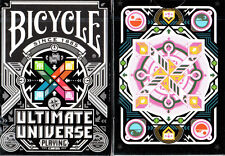 ULTIMATE UNIVERSE COLORED BICYCLE DECK PLAYING CARDS GAMBLERS WAREHOUSE TRICKS
