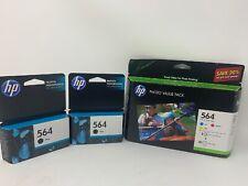 Hewlett Packard HP #564 Ink Cartridge Bundle EXPIRED 2015 Sealed