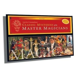 Mysteries of the Master Magicians Set by Royal - Learn Over  75 Magical Effects!