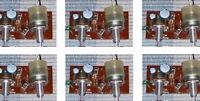 6 PCS LOT Vintage 4 transistor mono stereo phono amp - crystal radio amplifier