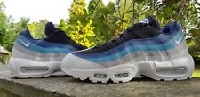 Nike Air Max 95 Essential Hombre Entrenadores Azul Negro Gris Tallas 7.5 & 8