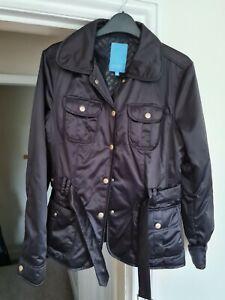 Escada sport Jacket Black Size 38 Vgc Womens