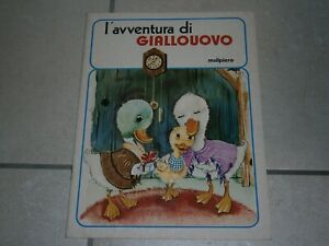 BABY FIABA - MALIPIERO EDITORE - N° 1 - L'AVVENTURA DI GIALLOUOVO - OTTIMO