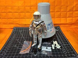 1966 GI JOE Space Capsule & Astronaut Official Mercury Flight Hasbro. Rare!