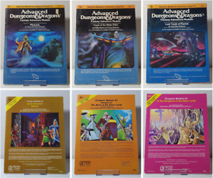 Advanced Dungeons and Dragons - Adventure Modules (Various)