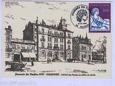 1997// FDC CP 1e JOUR**Journee du timbre- Mouchon-Valence**TIMBRE Y/T N°3052
