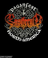 ENSIFERUM cd cvr PAGANFEST Official 2013 TOUR SHIRT MED New OOP
