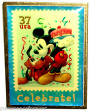 USPS The Art of Disney Stamps: Celebrate! Mickey & Pluto Pin