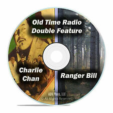 Ranger Bill, Charlie Chan, 365 ALL EXISTING SHOWS Old Time Radio OTR, DVD CD F65