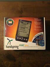 Brand New Open Box Handspring Visor Deluxe 8Mb Ram Pda Palm Os Handheld Graphite