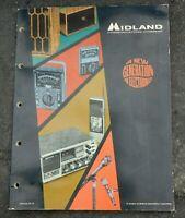 Vintage 1971 Midland Electronics Catalog