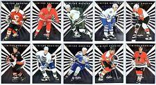 1996-97 LEAF LIMITED ROOKIES COMPLETE 10 CARD INSERT SET LOT Rare Mint Iginla BV