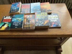 Büchersammlung Von Jack Higgins 9 Bücher gebraucht