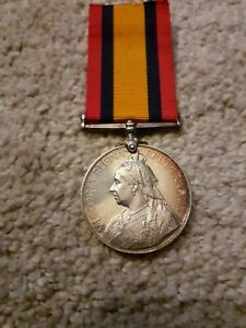 QSA, Queens South Africa Medal,  Natal Govt RLYS