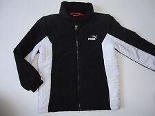 PUMA Funktionsjacke Jacke Gr.128 schwarz-weiß wie NEU zu Jeans Schuhe