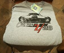 New 1968 Camaro Z/28 Shirt,Vintage Hot Rod Racer Style OFFICIALLY LICENSED BY GM