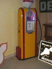 Wayne 60 Shell gas pump, see my other porcelain neon sign. gas & oil auto, Ford