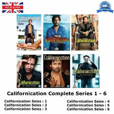 CALIFORNICATION Series 1 - 6 Complete Collection 1 2 3 4 5 6 New UK Region 2 DVD