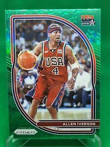 20/21 Prizm Allen Iverson Team USA Green Prizm